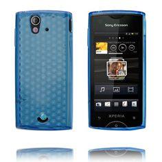 Cubes (Lyse Blå) Sony Ericsson Xperia Ray Deksel