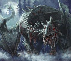 Zombie #Dragon by Christopher Burdett
