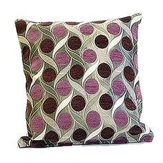 colourmatch cotton cushion 43x43cm purple fizz z. Black Bedroom Furniture Sets. Home Design Ideas