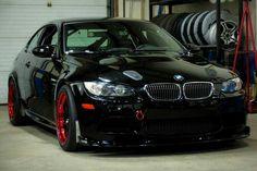 Black & Red wheels