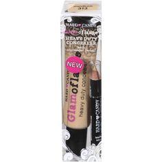 Hard Candy Glamoflauge Heavy Duty Concealer With Concealer Pencil, Medium 313 at Walmart.com