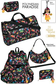 Fall 2013 LeSportsac It's A Small World Collection
