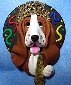 *SORRY, no information as to product used ~ bassetnewyearpin