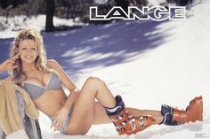 When Bob Lange developed the plastic ski boot in 1962 he knew he was onto something good. In 1970, the first Lange girl poster was released, and ski boots suddenly became sexy.