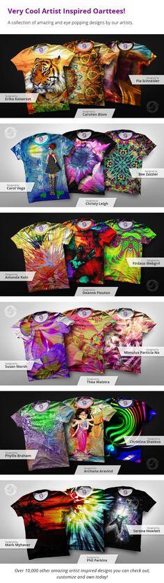 OArtTee, Wearable Art You Can Create | Indiegogo
