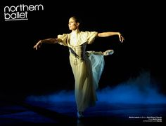 Martha Leebolt as Mina in David Nixon's Dracula. Photo Merlin Hendy. northernballet.com/dracula