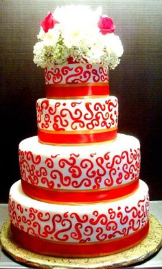 Delish Cakes | www.delishcakes.net #wedding #cake