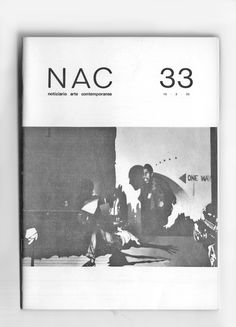 Copertina #NAC 33/1970  Gian Franco Ferroni, Notizie dall'America, 1964