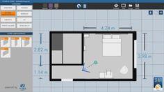 Sketcher 2D du Configurateur 3D réalisé pour SERFIGROUP