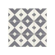 A bold pattern makes this geometric cement tile a standout. Enliven any space with this premium grey and white encaustic cement tile by Exfloorit. Mid Century Modern Bathroom, Modern Bathroom Tile, Modern Floor Tiles, Subway Tile Backsplash, Encaustic Tile, Guest Bathrooms, Kitchen Colors, Pattern Making, Cement