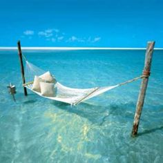 If I could just lay here in this hammock with the ocean beneath me and the sun on my skin....I would never leave