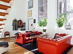 HOME & GARDEN: Un appartement moderne et lumineux à Göteborg