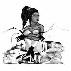 #drawing #illustration #sketch #blackandwhite #art #dessin