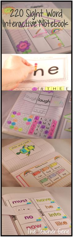 Fun and interactive way to learn 220 sight words! ($)