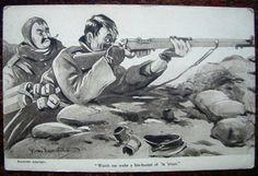 First World War Postcard by Bruce Bairnsfather
