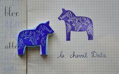 stamp dala horse - dalahäst