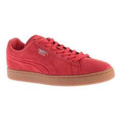 1cbbc0e8371 Men s Puma Suede Emboss Sneaker High Risk  Gum