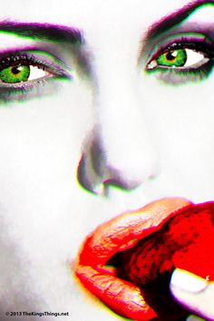 """Amazon.com - """"ANDY's Angelina Jolie Dream"""" Homage to Andy Warhol Two #005: Signed & Numbered Print by Brian King"""