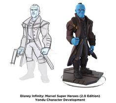 Disney Infinity 2.0 Character Development - Yondu