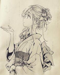 55 Beautiful Anime Drawings Art Pinterest Anime Art Drawings