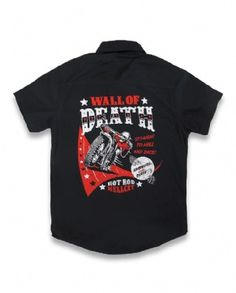 WALL OF DEATH, Hotrod Hellcat Kids, Workshirts at Switchblade Clothing