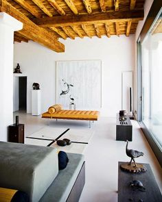 space: a modern minimalist living room in Ibiza