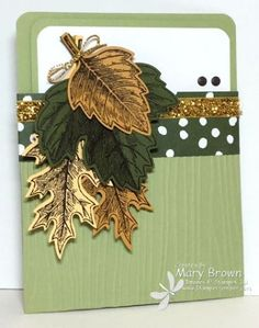 Mary - SU - Stampin' Up! Only Challenge (SUO Challenges) - Pocket Card - Fall…