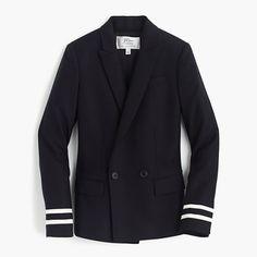 Rhodes blazer in navy stripes