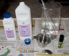 DYI Homemade nail polish remover, 2 recipes