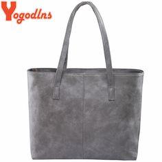Stylist 2018 fashion women leather handbag brief shoulder bags gray /black large capacity luxury handbags tote bags design. Types of bags: Shoulder & Handbags. Black Handbags, Tote Handbags, Leather Handbags, Tote Bags, Vegan Handbags, Women's Bags, Designer Purses And Handbags, Luxury Handbags, Bling Bling