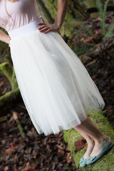 DIY: tulle skirt