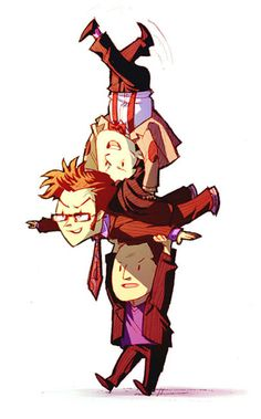 9, 10 & 11!! Squeee! This is so cute!! Fanart  #DoctorWho