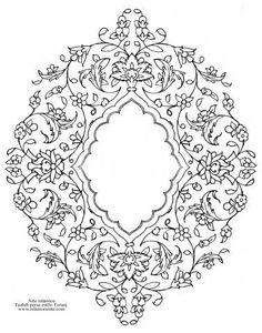 Arte islámico- Tazhib persa estilo Toranj - 36   Galería de Arte Islámico y Fotografía: