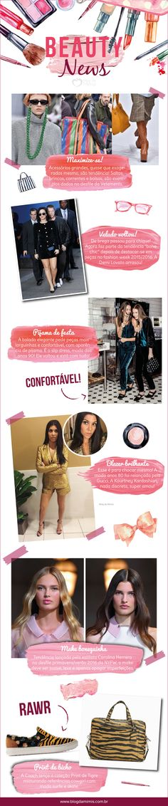 Beauty News: a moda