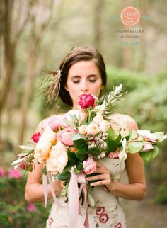 Claire Pettibone 'Olivia' wedding gown http://www.clairepettibone.com/bridal/?cp=gowns/olivia   Photo: Lindsay Madden Photography via Elizabeth Messina's A Lovely Workshop   Floral: Amy Osaba  .