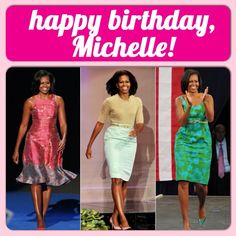 HAPPY 51st BIRTHDAY FIRST LADY MICHELLE OBAMA JANUARY 17th