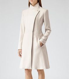 Reiss Virginia Coats: For my imaginary life where I have an unlimited budget and could keep a white coat clean for more than 2 minutes