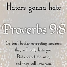 Biblical Quotes On Haters. QuotesGram