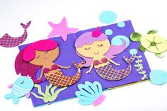 Cricut Maker Mermaid Under the Sea Felt Quiet Book with HTV Iron-On-Written by Kimberly Coffin I've been dreaming up a quiet book for longer than I care to admit, I even attempted one once and it was a total disaster! Once I learned about the Cricut Maker Rotary Blade I knew it would be perfect for everything I had been dreaming up! (Learn more about the Cricut Maker HERE) The Rotary Blade cuts through felt like a dream which makes this project SO easy and your little girl is sure to LOVE…