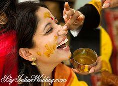 occasion before wedding with haldii Bengali Wedding, Desi Wedding, Wedding Pics, Wedding Styles, Wedding Day, India Wedding, Big Fat Indian Wedding, South Asian Wedding, South Indian Bride