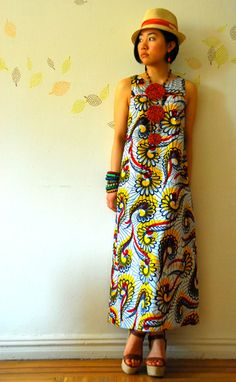 This is my style, to a T: Urban, African, boho, chic. DRESS: wada-africa.com store.