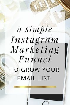 A simple marketing funnel to grow your email list. E-mail Marketing, Best Email Marketing, Marketing Website, Instagram Marketing Tips, Email Marketing Strategy, Facebook Marketing, Instagram Tips, Marketing Digital, Content Marketing