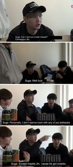If BTS Was In An American Reality Show Pt.2 | K-Pop Amino But Yoongi doesn't like to eat...
