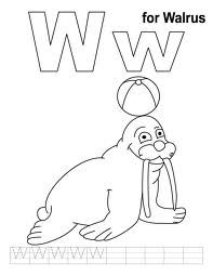 Want To Offer A Set Of Coloring Sheets Which Can Teach Your Child Learn About Letter W Here We Give You 10 Amazing Free Printable Pages