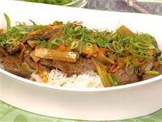 Mapped-out meals: G. Garvin's beef stir fry, salmon, more