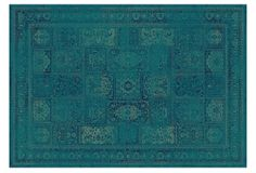 Tracy Rug, Turquoise/Multi