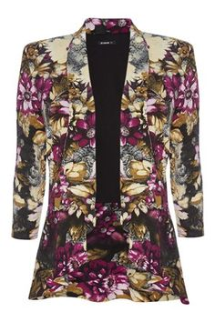 Floral Peplum Jacket - http://www.romanoriginals.co.uk/invt/60822