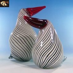 Murano Glass Funny Animal Penguin