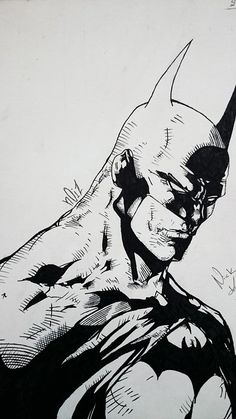Batman Sketch by NICK KATRITSI
