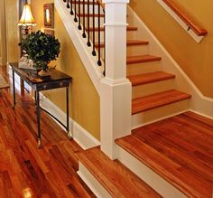 how to fix slippery wood stairs